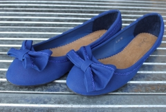 Damen-Ballerinas Art.Nr.: A-42 blue