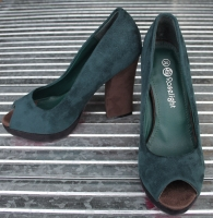 Damen-High Heels Art.Nr.: KX5268-Green